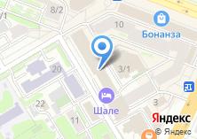 Компания «Приз» на карте