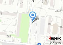 Компания «Автостоянка на Зорге» на карте