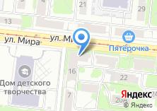 Компания «Продовольственный магазин на ул. Мира» на карте