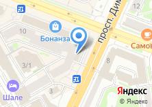 Компания «Юнис Новосибирск» на карте