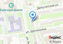 Компания «Новосибирское книжное издательство» на карте