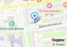Компания «Межрегиональный союз проектировщиков» на карте