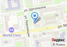 Компания «Сибгипрокоммунводоканал» на карте