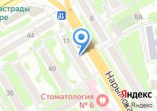 Компания «Галланск» на карте