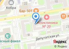Компания «Бизнеском» на карте