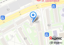 Компания «РИГ» на карте