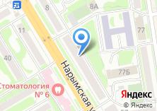 Компания «Флорес Новосибирск» на карте