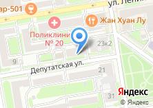 Компания «Мармелад» на карте