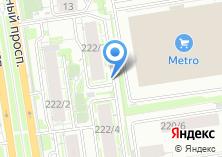 Компания «Пульсар-Новосибирск» на карте