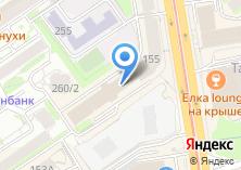 Компания «Автобусы Сибири» на карте