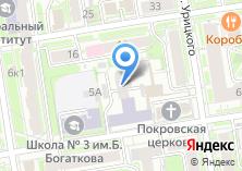 Компания «Строящееся административное здание по ул. Октябрьская» на карте