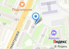 Компания «Сити-кухни» на карте