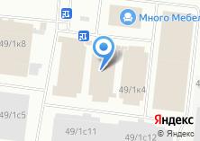 Компания «Родная мебель» на карте