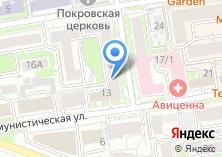 Компания «Event city» на карте