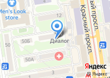 Компания «Пируэт» на карте