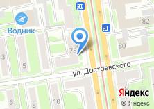 Компания «Управление ветеринарии г. Новосибирска» на карте