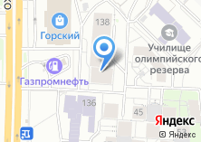 Компания «ИНТЕРФЕЙС» на карте