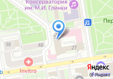 Компания «ЮниКредит Лизинг» на карте