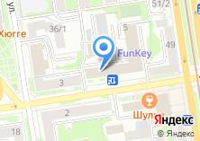 Компания «БСР» на карте