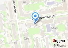Компания «Интернет Сибири» на карте