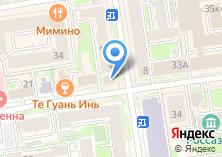 Компания «Союзавиасервис» на карте