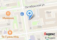 Компания «Метрика-Групп» на карте
