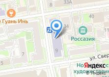 Компания «Президентская библиотека им. Б.Н. Ельцина» на карте