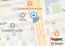 Компания «Союз архитекторов Новосибирска» на карте