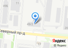 Компания «НовПромКрепеж» на карте
