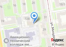 Компания «Рабочий проект» на карте