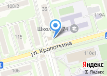Компания «Деповской» на карте