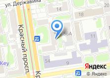 Компания «Новосибирская Ассоциация Туристских организаций» на карте
