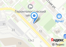 Компания «Мебель» на карте