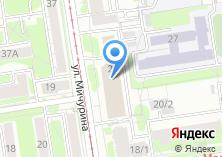 Компания «Детективно-юридическое агентство *решение*» на карте