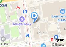 Компания «Агентство Безопасности ОБЕРЕГ» на карте