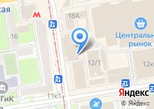 Компания «Сибирский Центр Недвижимости» на карте