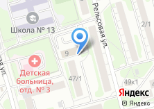Компания «Репутация» на карте