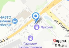 Компания «АЗС Лукойл» на карте