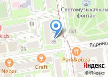 Компания «КОКОS» на карте