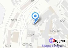 Компания «АВТОМАСТЕР НСК» на карте