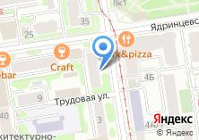 Компания «Общежитие Сибирский институт» на карте