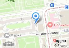 Компания «АКС» на карте