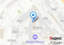 Компания «Буран» на карте