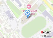 Компания «Спортивно-оздоровительный комплекс СГУПС» на карте
