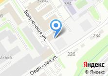 Компания «ИнструментСервис» на карте