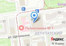Компания «Строящееся административное здание по ул. Депутатская» на карте