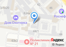 Компания «Нефтемаркет НСК» на карте
