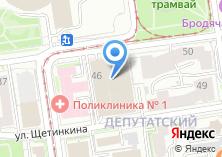 Компания «Единая Служба Банкротства» на карте