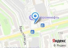 Компания «АЗС Газпромнефть-Новосибирск» на карте