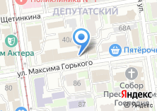 Компания «МЕТА» на карте